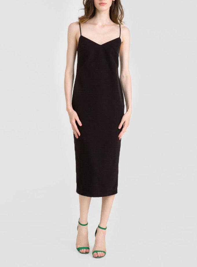 Платье миди с открытой спиной MGN_1715CH, фото 1 - в интернет магазине KAPSULA