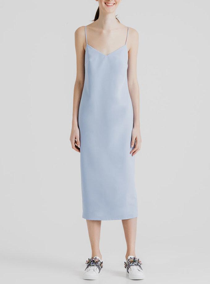 Платье миди с открытой спиной MGN_1715G, фото 1 - в интернет магазине KAPSULA