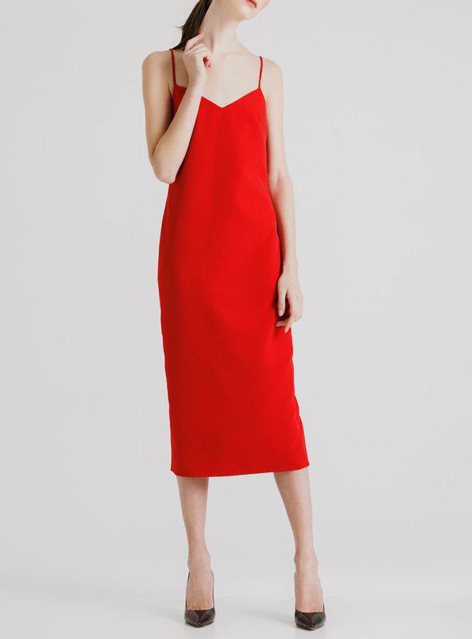 Платье миди с открытой спиной MGN_1715K, фото 1 - в интернет магазине KAPSULA