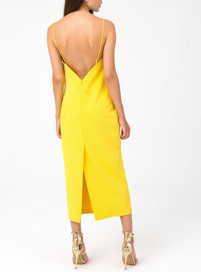 Платье миди с открытой спиной MGN_1715ZH, фото 1 - в интернет магазине KAPSULA