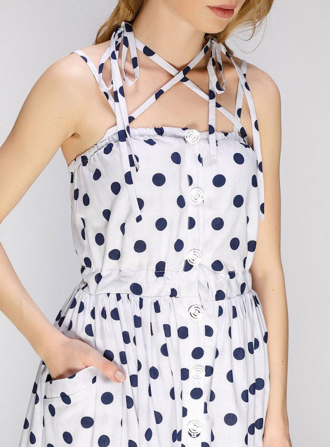 Сарафан макси с пышной юбкой AY_2659_outlet, фото 1 - в интернет магазине KAPSULA
