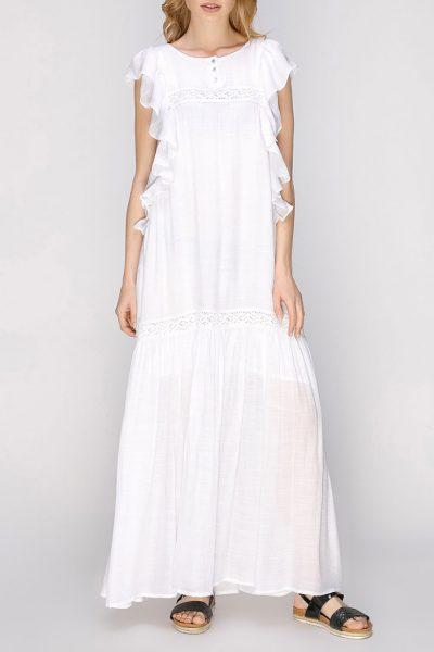 Полупрозрачное платье макси AY_2666, фото 1 - в интеренет магазине KAPSULA