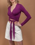 Костюм с широкими брюками из льна WNDR_ss_sprpl04, фото 6 - в интеренет магазине KAPSULA