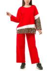 Хлопковый костюм свободного кроя WAB_2455010201, фото 3 - в интеренет магазине KAPSULA