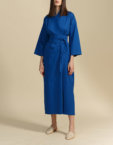 Платье со вшитым поясом SHKO-19007004, фото 4 - в интеренет магазине KAPSULA