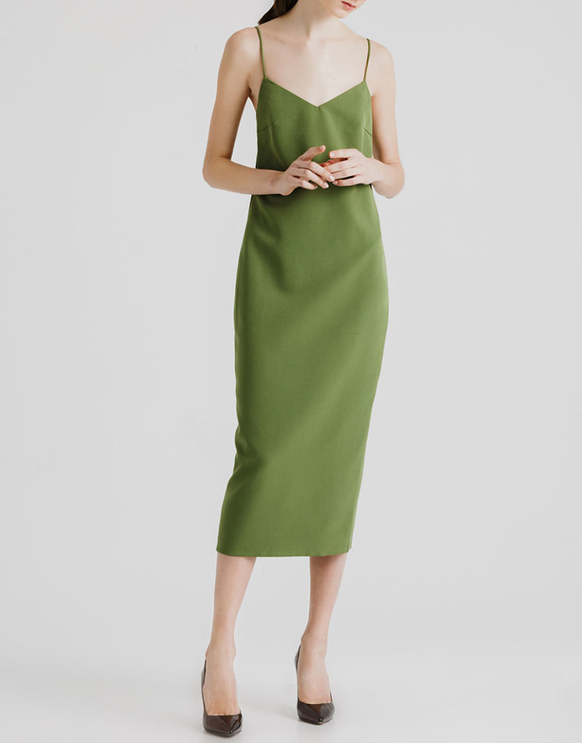 Платье миди с открытой спиной MGN_1715H, фото 1 - в интернет магазине KAPSULA