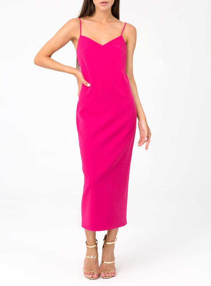 Платье миди с открытой спиной MGN_1715M, фото 1 - в интернет магазине KAPSULA