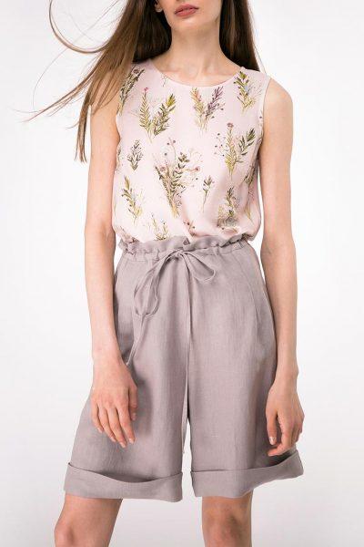 Легкая блуза прямого кроя SHKO-13076080, фото 1 - в интеренет магазине KAPSULA