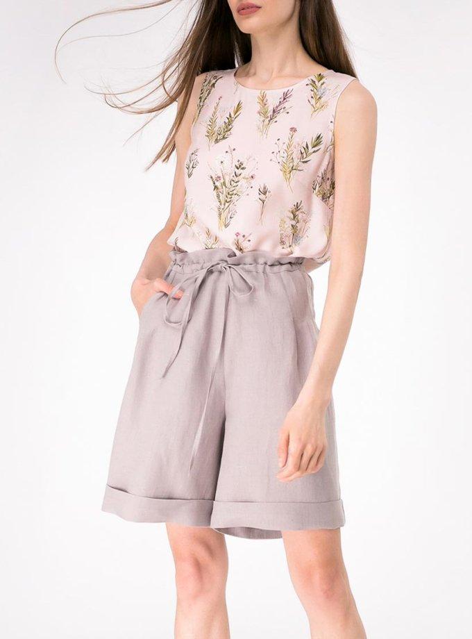 Легкая блуза прямого кроя SHKO-13076080, фото 1 - в интернет магазине KAPSULA