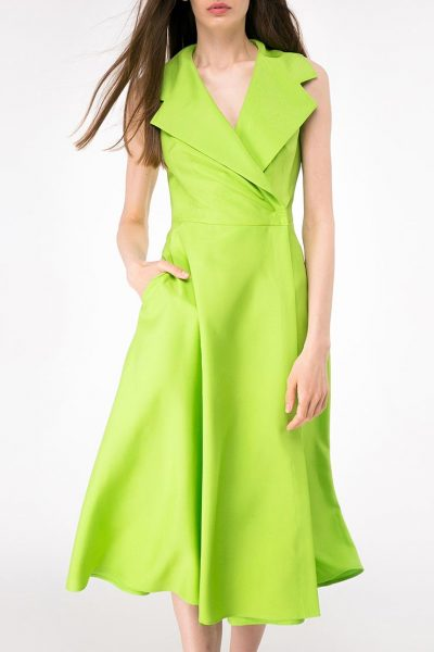 Платье миди на запах SHKO-14093025, фото 1 - в интеренет магазине KAPSULA