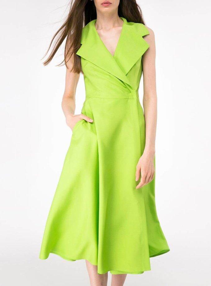 Платье миди на запах SHKO-14093025, фото 1 - в интернет магазине KAPSULA