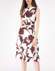 Платье А-силуэта с поясом SHKO-16017009, фото 4 - в интеренет магазине KAPSULA
