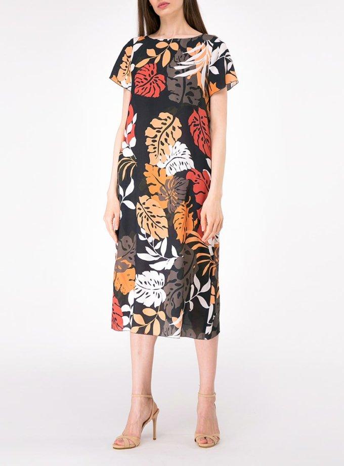 Платье свободного кроя с карманами SHKO-17013016, фото 1 - в интернет магазине KAPSULA