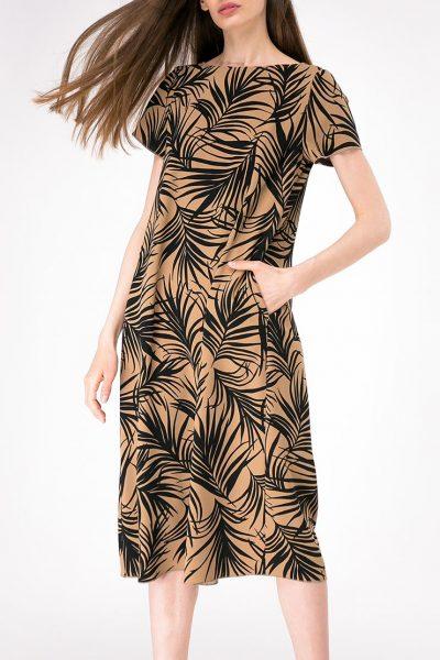 Платье свободного кроя с карманами SHKO-17013020, фото 1 - в интеренет магазине KAPSULA