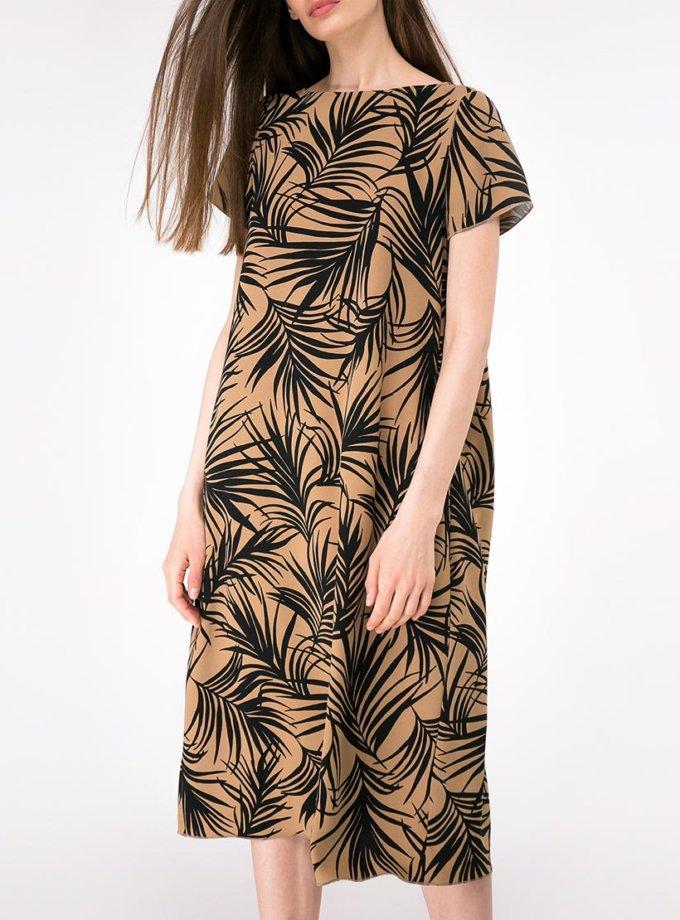 Платье свободного кроя с карманами SHKO-17013020, фото 1 - в интернет магазине KAPSULA