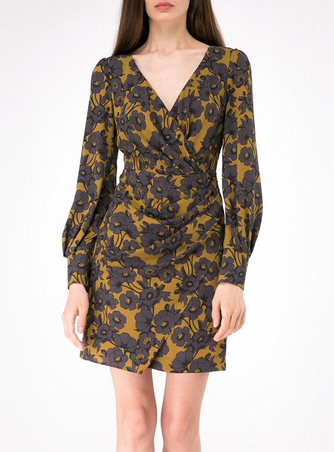 Платье мини с драпировкой SHKO-18054005, фото 1 - в интернет магазине KAPSULA