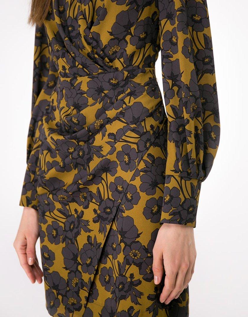 Платье мини с драпировкой SHKO-18054005, фото 1 - в интеренет магазине KAPSULA