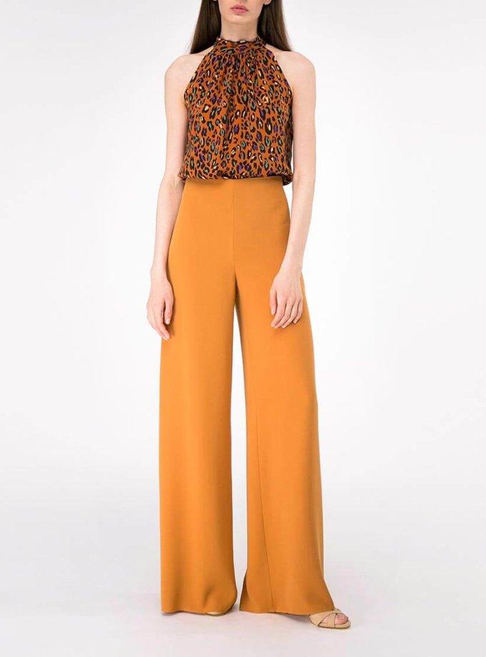Широкие брюки на высокой посадке SHKO-19004002, фото 1 - в интернет магазине KAPSULA