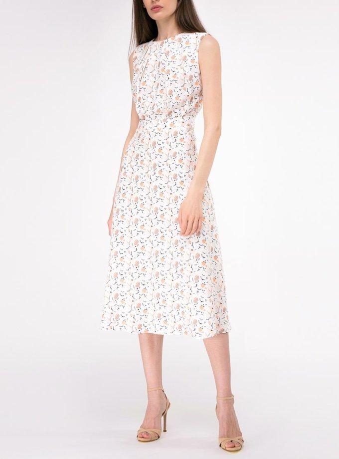 Платье со вшитым поясом SHKO-19007004, фото 1 - в интернет магазине KAPSULA