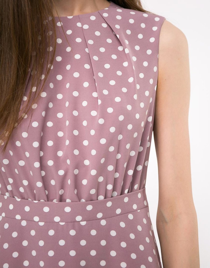 Платье миди полуприлегающего силуэта SHKO-19007006, фото 1 - в интернет магазине KAPSULA