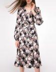 Льняная юбка с асимметричным низом SHKO-18028001, фото 3 - в интеренет магазине KAPSULA