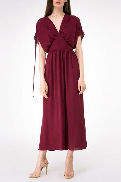 Легкое платье с регулируемыми рукавами SHKO-19026001, фото 1 - в интеренет магазине KAPSULA