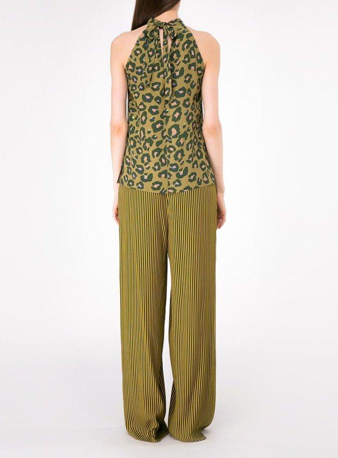 Легкие брюки на кулиске SHKO-19027002, фото 1 - в интернет магазине KAPSULA