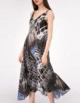 Платье на запах с поясом SHKO-19021003, фото 4 - в интеренет магазине KAPSULA