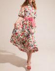 Легкое платье А-силуэта SHKO-16030006, фото 4 - в интеренет магазине KAPSULA