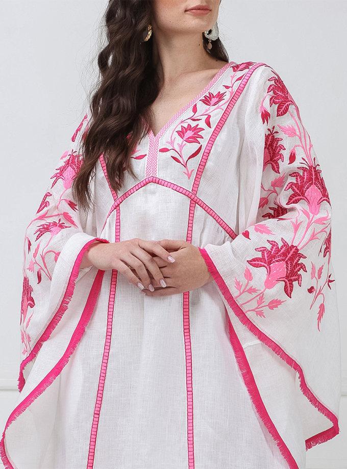 Платье мини с широкими рукавами FOBERI_ss19048, фото 1 - в интернет магазине KAPSULA