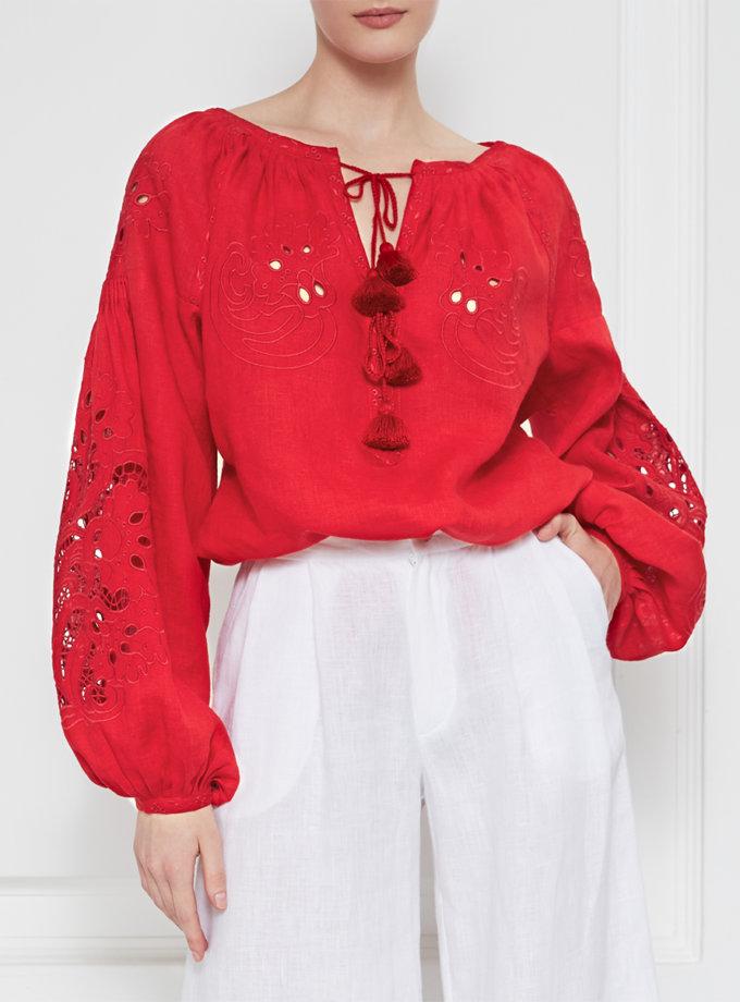 Вышиванка Total Red FOBERI_01138, фото 1 - в интернет магазине KAPSULA