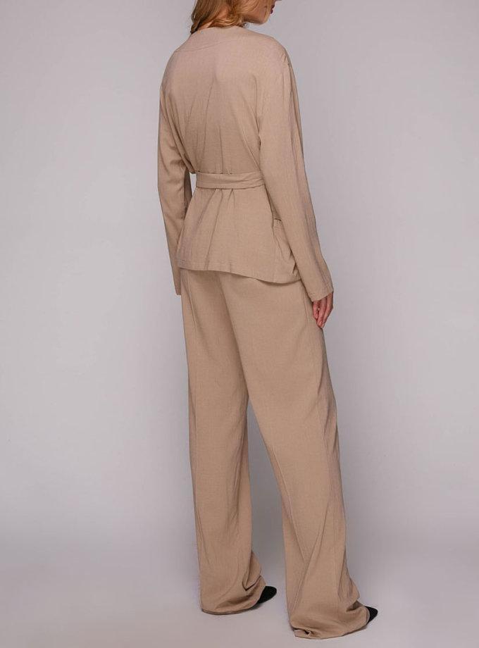 Широкие брюки со стрелками AY_2789, фото 1 - в интернет магазине KAPSULA