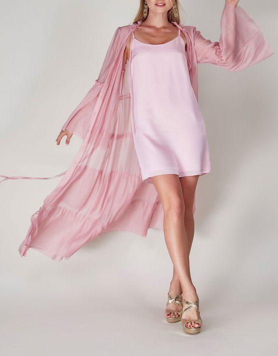Платье бохо с рюшами CVR-SS201914, фото 2 - в интеренет магазине KAPSULA