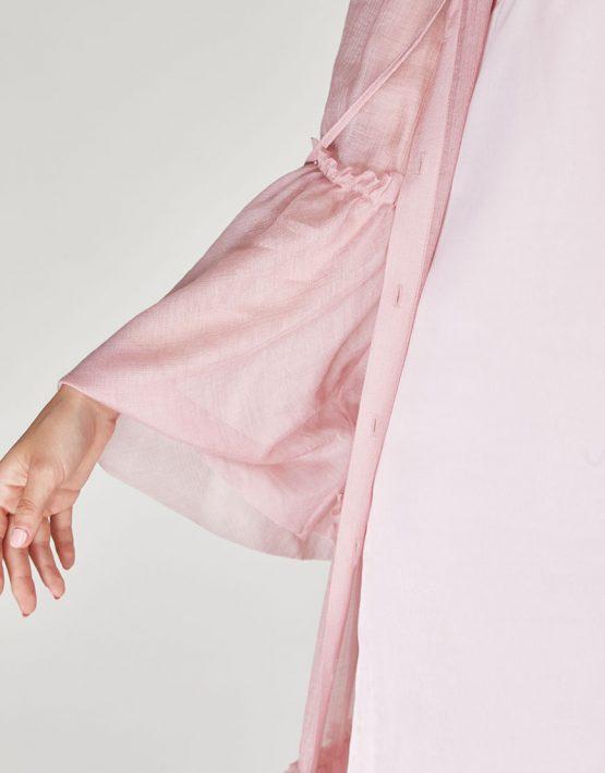 Платье бохо с рюшами CVR-SS201914, фото 9 - в интеренет магазине KAPSULA