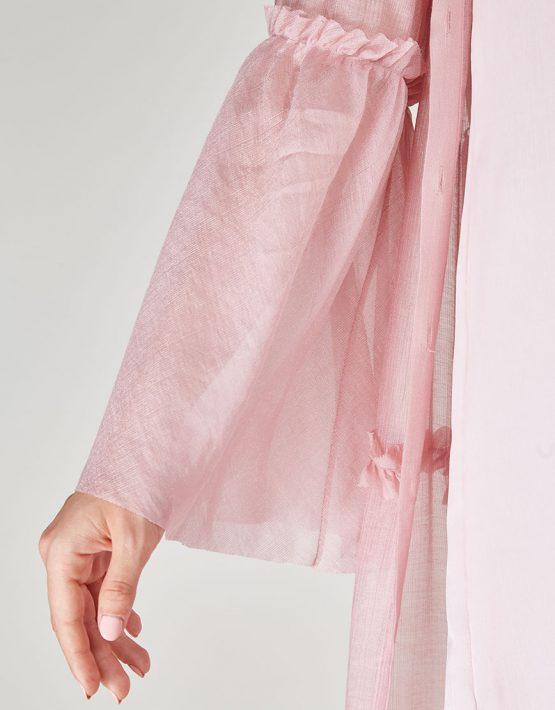 Платье бохо с рюшами CVR-SS201914, фото 8 - в интеренет магазине KAPSULA