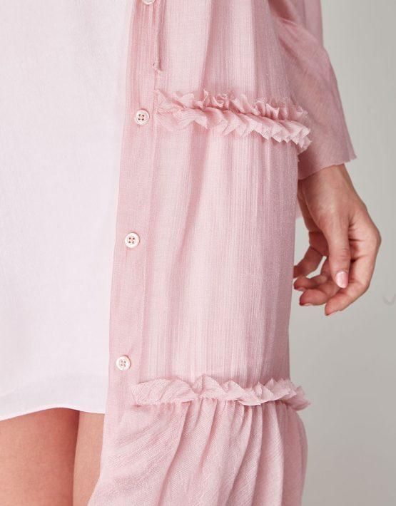 Платье бохо с рюшами CVR-SS201914, фото 7 - в интеренет магазине KAPSULA