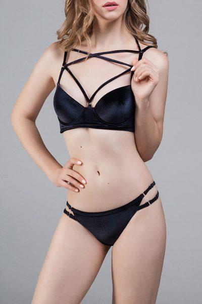 Бархатный купальник Boudoir in Velvet DONT-5505, фото 1 - в интеренет магазине KAPSULA
