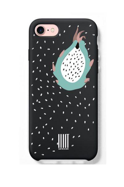 Чехол для IPHONE dragonfruit LSRK_case_dragonfruit_black, фото 1 - в интеренет магазине KAPSULA