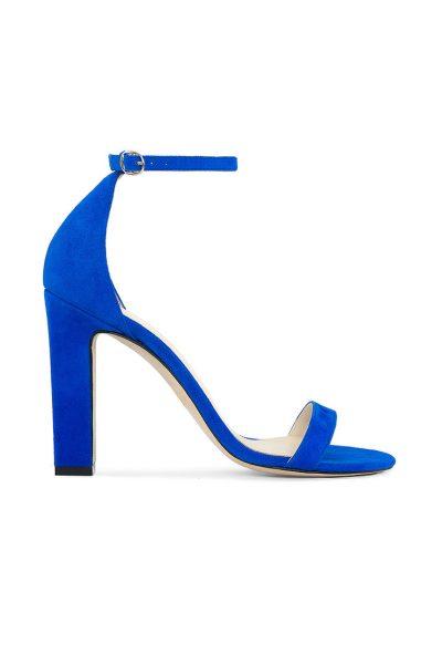 Замшевые босоножки She BLUE MRSL-693696, фото 1 - в интеренет магазине KAPSULA