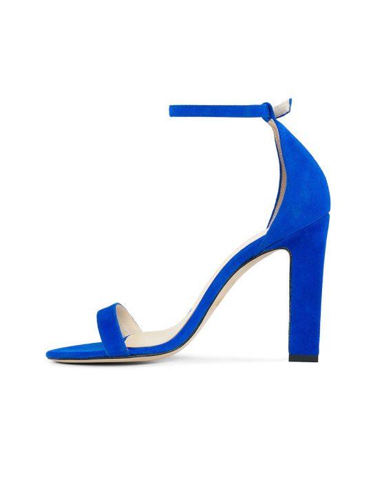 Замшевые босоножки She BLUE MRSL-693696, фото 4 - в интеренет магазине KAPSULA