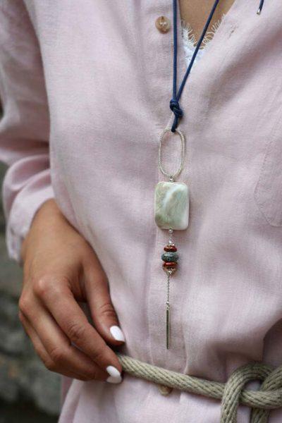 Серебряный кулон Gaya SMKSH_gaya_1, фото 4 - в интеренет магазине KAPSULA