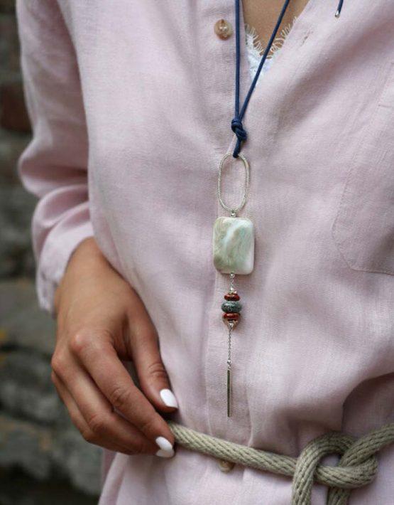 Серебряный кулон Gaya SMKSH_gaya_1, фото 2 - в интеренет магазине KAPSULA