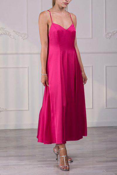 Сарафан макси с открытой спиной RSNN_SS19R020_pink, фото 1 - в интеренет магазине KAPSULA