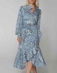 Платье на запах с рюшами WNDR_ss19_dblck07, фото 4 - в интеренет магазине KAPSULA