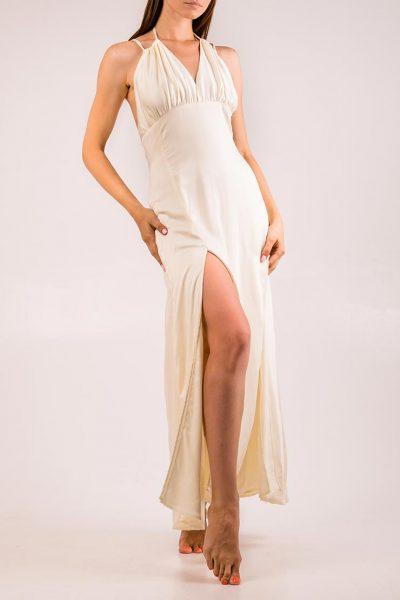 Платье с открытой спиной и разрезами XM_cruise15, фото 1 - в интеренет магазине KAPSULA
