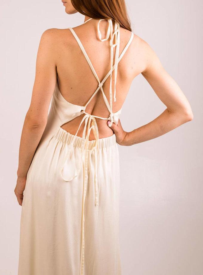 Платье с открытой спиной и разрезами XM_cruise15, фото 1 - в интернет магазине KAPSULA