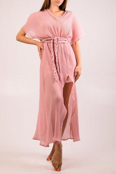 Платье плиссе на подкладе XM_cruise2, фото 2 - в интеренет магазине KAPSULA