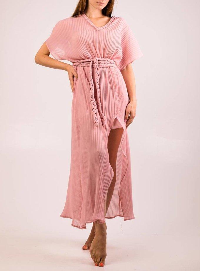 Платье плиссе на подкладе XM_cruise2, фото 1 - в интернет магазине KAPSULA