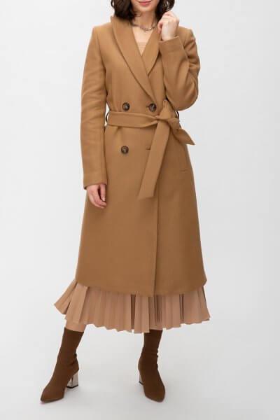 Шерстяное пальто с поясом TRC_MZ39ATTRLF47, фото 1 - в интеренет магазине KAPSULA