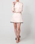Полупрозрачное платье с воланами NLN_AI3709-2, фото 4 - в интеренет магазине KAPSULA